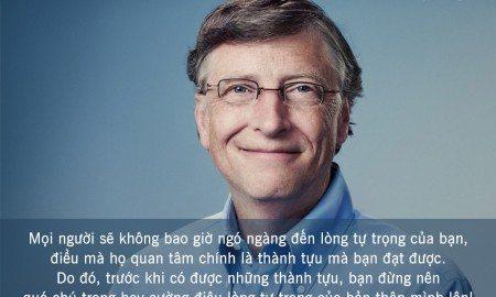 Những câu nói hay của Bill Gates