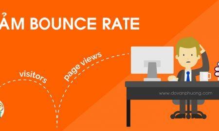 Giảm tỷ lệ thoát trang Bounce Rate