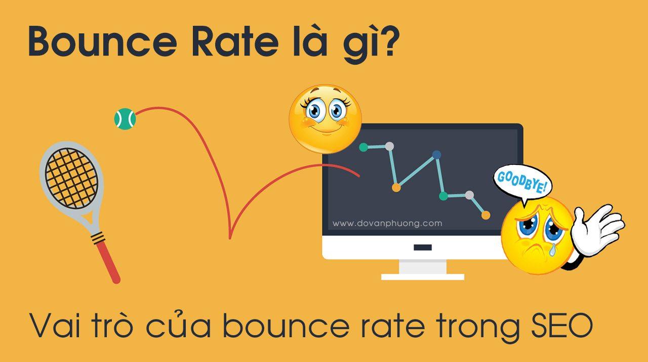 Tỷ lệ thoát trang Bounce Rate