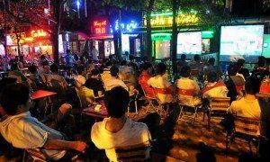 Danh sách các quán cafe bóng đá Hà Nội