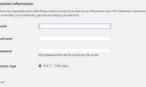 Update Wordpress không cần dùng FTP