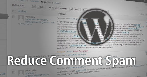 Chống spam comment trong Wordpress