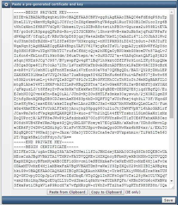 Khai báo SSL