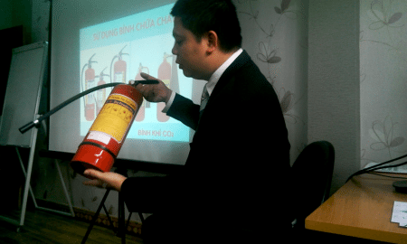Tập huấn công tác phòng cháy chữa cháy