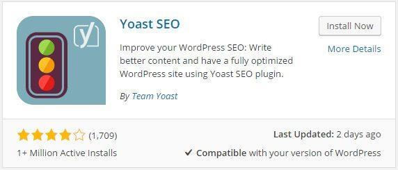 WordPress Yoast SEO Plugin
