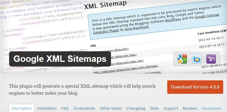 thesis google xml sitemap Best wordpress seo plugins for 2012 by ditesco google xml, seo smartlinks and others that thesis does not google xml.