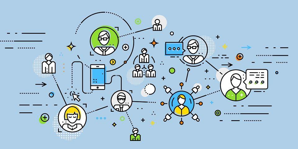 Mạng xã hội giúp kết nối thông tin