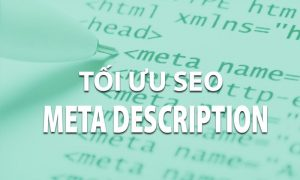 Tối ưu thẻ Meta Description