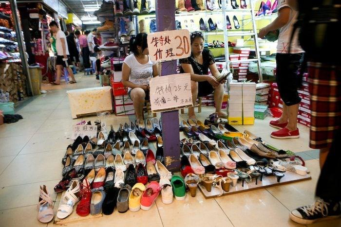 Giày dép giá sỉ
