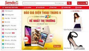 Trang thương mại điện tử Sen Đỏ