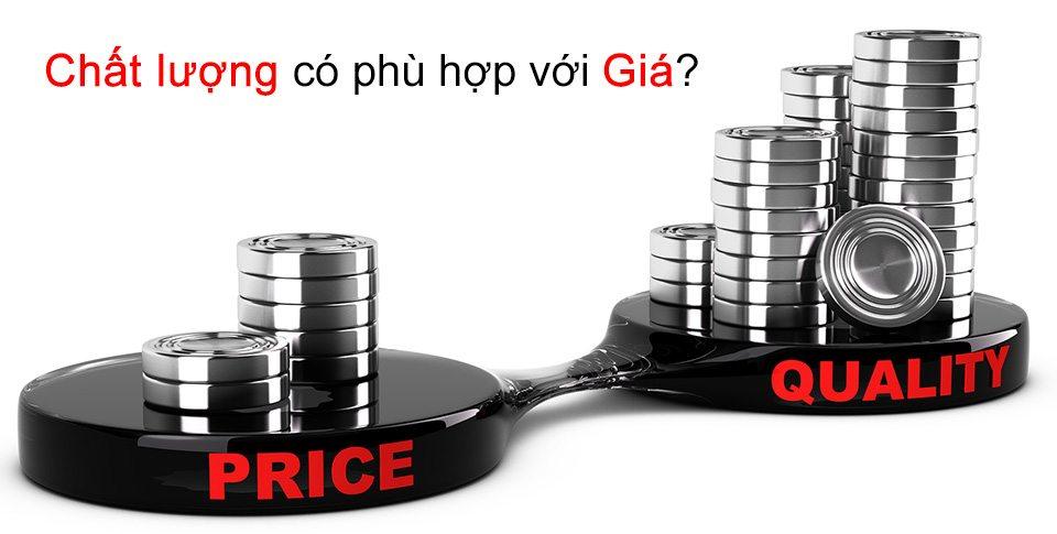Chất lượng và giá sản phẩm