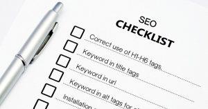 On page seo checklist