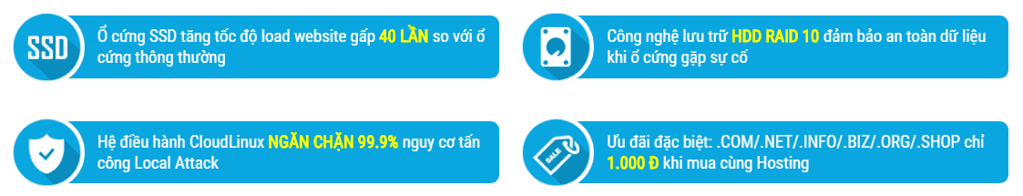 Tại sao nên sử dụng hosting tại TenTen.vn